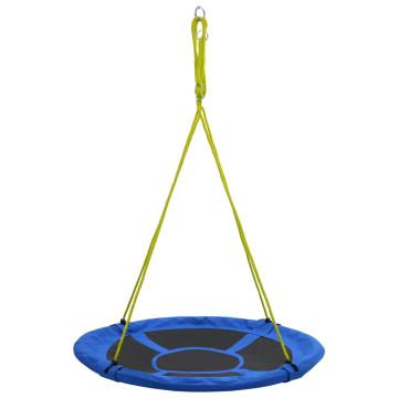Kék színű hinta 110 cm 150 kg - ingyenes szállítás