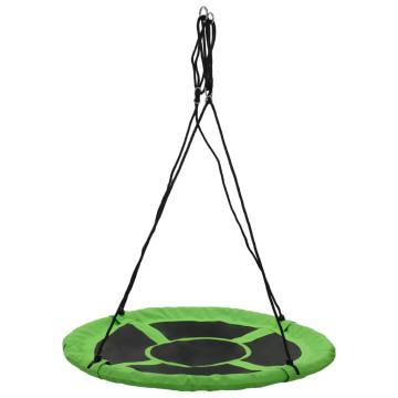 Zöld színű hinta 110 cm 150 kg - ingyenes szállítás