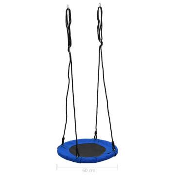 Kék színű hinta 60 cm 100 kg - ingyenes szállítás