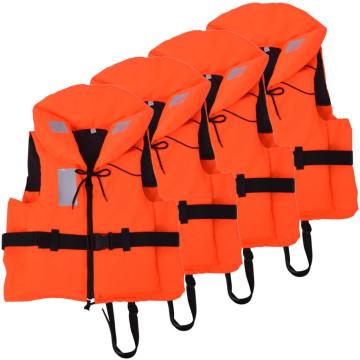 4 db mentőmellény 100 N 90+ kg - ingyenes szállítás