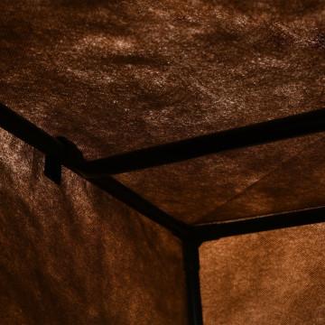 2 db barna ruhásszekrény 75 x 50 x 160 cm - ingyenes szállítás