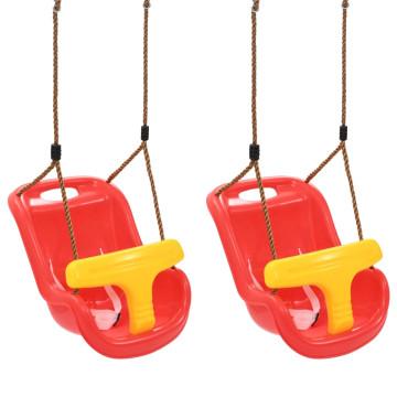 2 db piros PP babahinta biztonsági övvel - utánvéttel vagy ingyenes szállítással