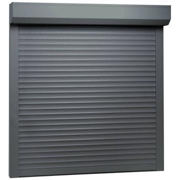 Antracitszürke alumíniumredőny 100 x 100 cm - utánvéttel vagy ingyenes szállítással