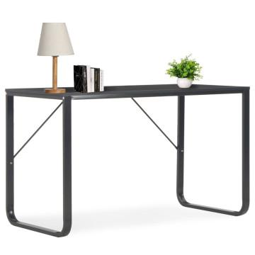 Fekete számítógépasztal 120 x 60 x 73 cm - utánvéttel vagy ingyenes szállítással