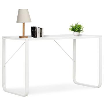 Fehér számítógépasztal 120 x 60 x 73 cm - utánvéttel vagy ingyenes szállítással