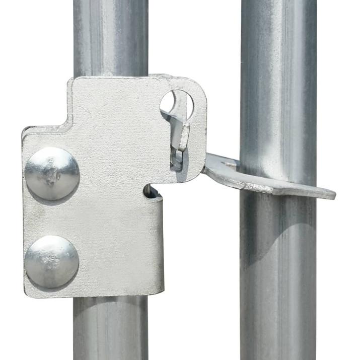 Horganyzott acél tyúkól 3 x 1 x 1,5 m - utánvéttel vagy ingyenes szállítással