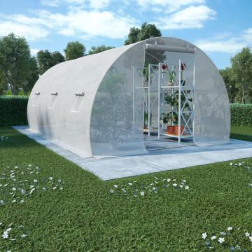 Acélalapzatú melegház 13,5 m² 450 x 300 x 200 cm - utánvéttel vagy ingyenes szállítással