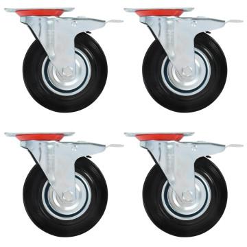 12 darab önbeálló görgő 125 mm - ingyenes szállítás