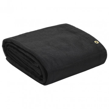 Fekete HDPE konténerháló 3,5 x 8 m - utánvéttel vagy ingyenes szállítással
