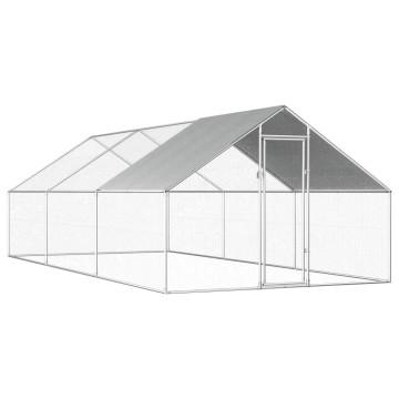 Kültéri horganyzott acél tyúkól 2,75 x 6 x 2 m - utánvéttel vagy ingyenes szállítással