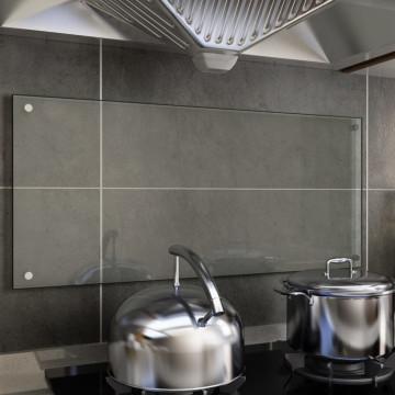 átlátszó edzett üveg konyhai fröccsenésgátló 90 x 40 cm - utánvéttel vagy ingyenes szállítással