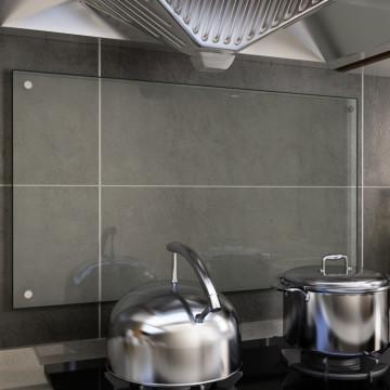 átlátszó edzett üveg konyhai fröccsenésgátló 90 x 50 cm - utánvéttel vagy ingyenes szállítással