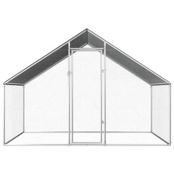 Kültéri horganyzott acél tyúkól 2,75 x 2 x 2 m - utánvéttel vagy ingyenes szállítással