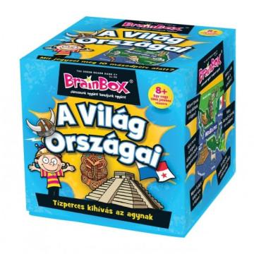 A világ országai társasjáték - Brainbox