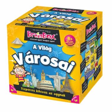 A világ városai társasjáték - Brainbox