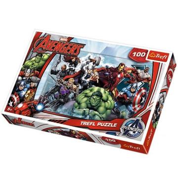 Avengers 100 darabos puzzle - Trefl