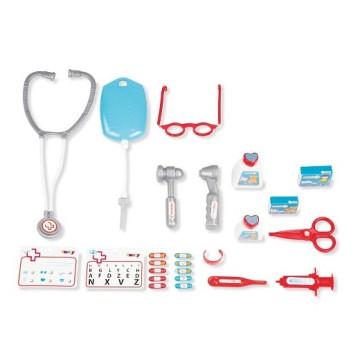 Orvosi kocsi elektronikus szívmonitorral
