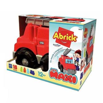Ecoiffier Abrick Les Maxi Tűzoltóautó építőkockákkal