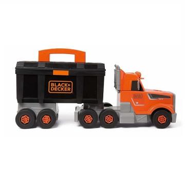 Smoby Black & Decker kamion szerszámos ládával