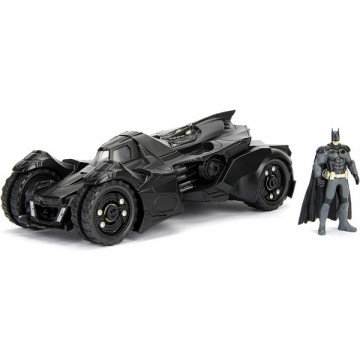 Batman autó Arkham Knight Batmobile figurával