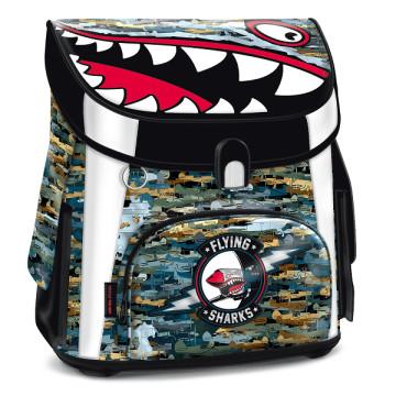 Ars Una Flying Sharks iskolatáska mágneszáras