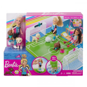 Barbie Dreamhouse Adventures Chelsea fociszett
