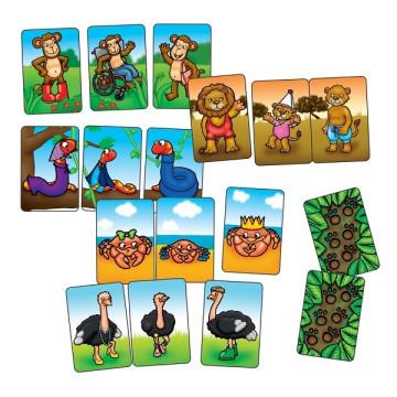 Állatcsaládok - Orchard Toys Mini játék