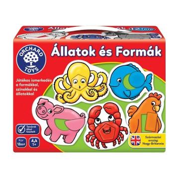 Állatok és formák  - Orchard Toys játék