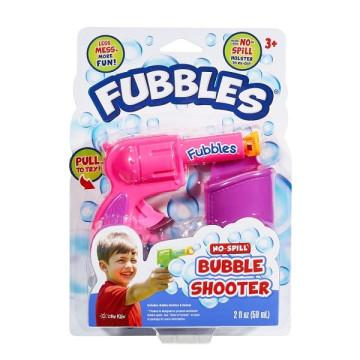 Fubbles Cseppmentes buborékfújó pisztoly - rózsaszín