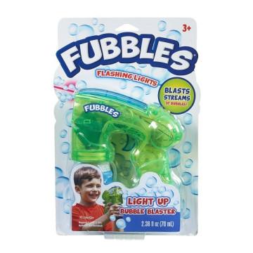 Fubbles Világító buborékvető - zöld