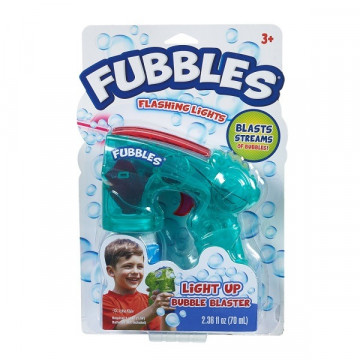 Fubbles Világító buborékvető - türkiz