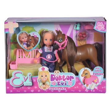 Evi Love - Doktor Évi baba lovas játékszett - Welcome Horse