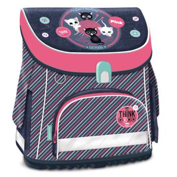 Ars Una iskolatáska Think Pink kompakt easy mágneszáras
