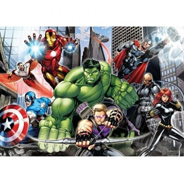 Avengers Supercolor Maxi puzzle 104 darabos - Clementoni