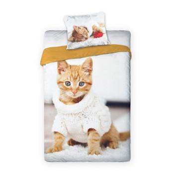 Best Friends cicás ágyneműhuzat szett - pulóverben