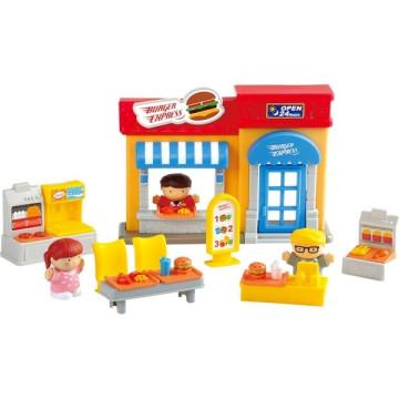 PlayGo Irány a gyorsétterem játékszett