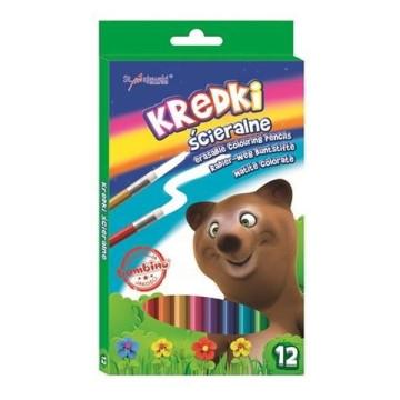 Bambino 12 db-os színes ceruza készlet radírral