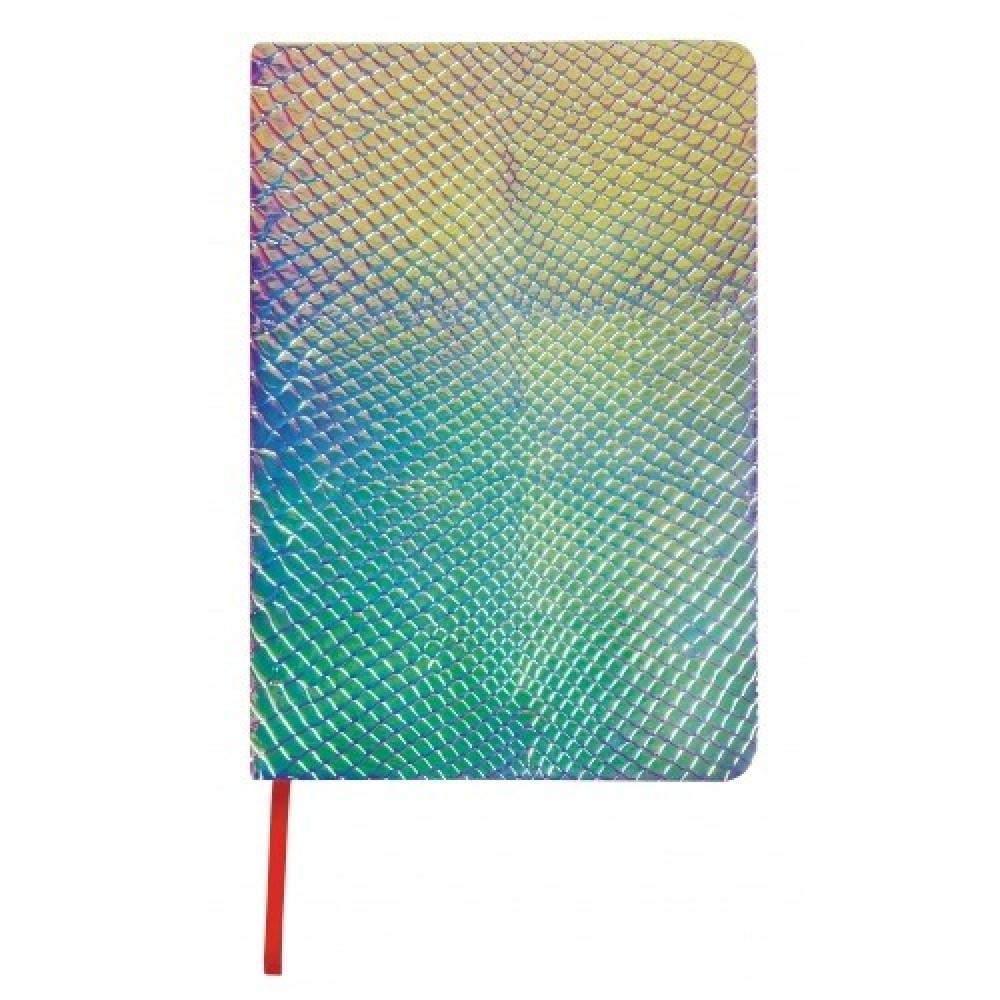 Kígyóbőr mintás napló A5 - szivárványfényű