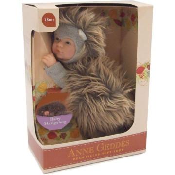 Anne Geddes játékbaba - Süni nyitott szemmel