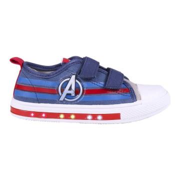 Avengers világító vászoncipő - 32-es méret