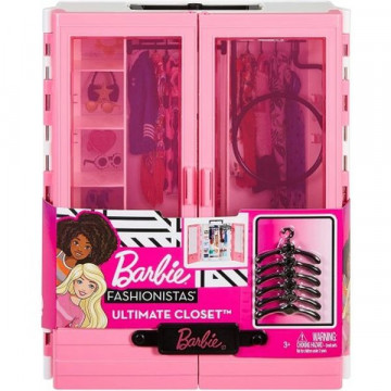 Barbie Fashionista - Öltözőszekrény