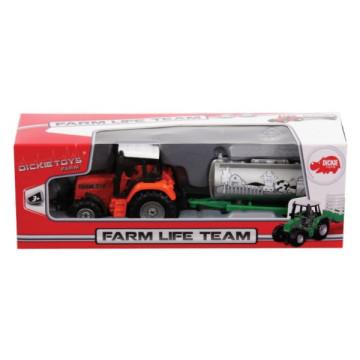 Dickie Farm Life Team Tejszállító traktor
