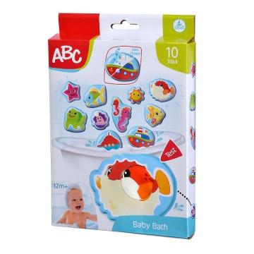 ABC színváltós fürdőjáték csempére