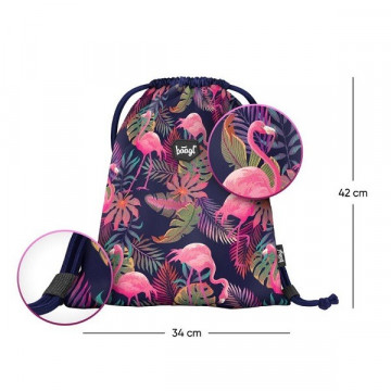 Baagl flamingós tornazsák - Flamingo