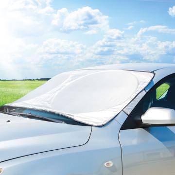 Autós téli-nyári szélvédőtakaró / jegesedésgátló -...