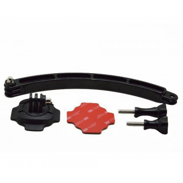 iTotal GP113 360 fokos rögzítőkar sisakhoz, fekete...
