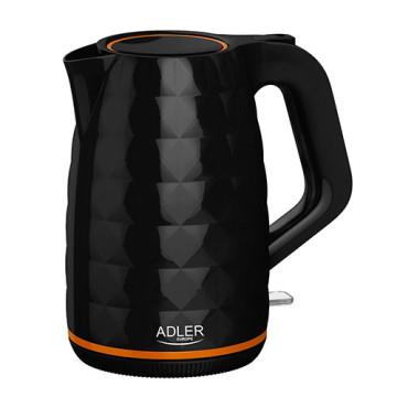 ADLER AD1277 Vízforraló, 1.7L, Fekete