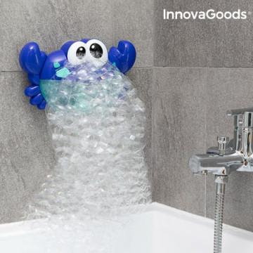 Innovagoods V0101212 zenélő fürdőhab készítő rák...