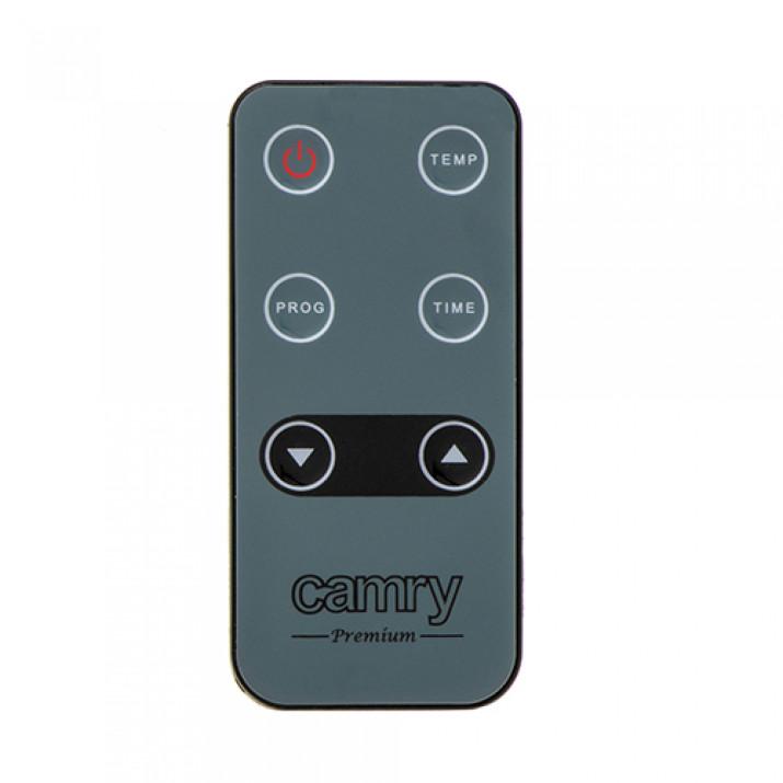 Camry CR7721 Üveg konvektor LCD kijelzővel és távirányítóval