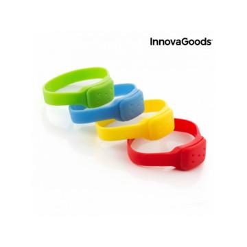 InnovaGoods V0100772 Citronella Szúnyogriasztó Karkötő